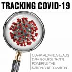 Tracking Covid-19 is a Clark College Foundation Alumni Relations webinar event.