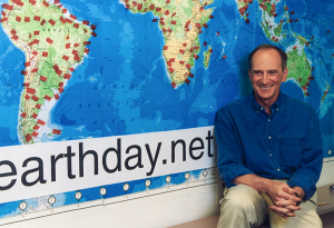 Denis Hayes is the inspirational founder of Earth Day.